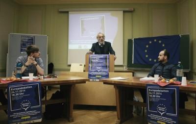 """""""Klartext Europa""""-Debatte in Potsdam"""