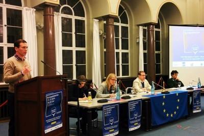 """Lehren aus der Krise ziehen: Die """"Klartext Europa""""-Debatte in Berlin"""