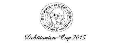 Debütanten-Cup 2015: Der Break ins Finale