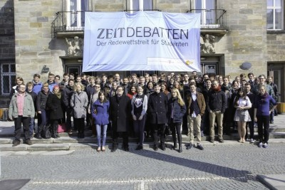 ZEIT DEBATTE  Oberfranken – Der Break ins Finale