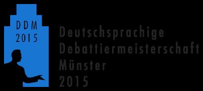 DDM 2015 Münster Logo mit Text