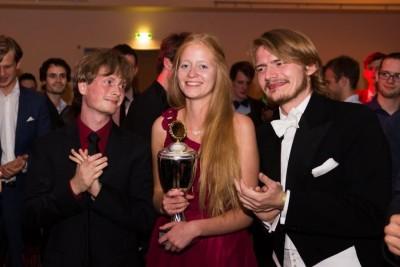 Erfolgreich mit Spaß und einem guten Team: Sabrina Effenberger ist Nachwuchspreisträgerin 2015