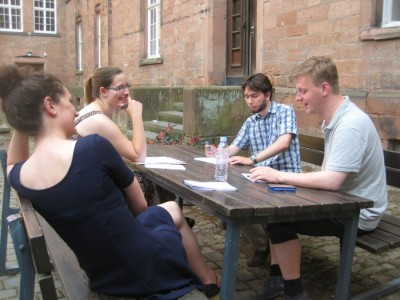 Gruppenarbeit beim Thinktank (c) D. Pakhomenko
