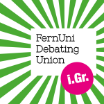 Fernuni debating union logo