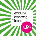 Fernuni debating union logo