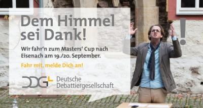 Die DDG trifft sich in Eisenach - Wer wird Master der Masters?