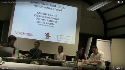 Von Höhlen und Formatkriegen: Das Historische Panel des 1. Jurier-Think-Tank