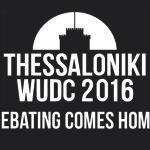 Logo WUDC 2016 Thessaloniki