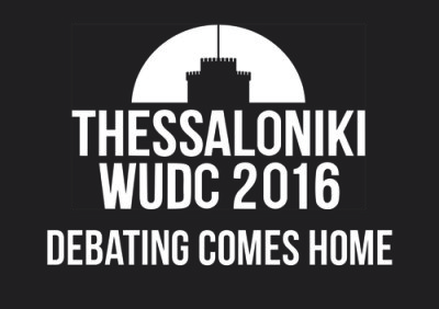 WUDC 2016 in Thessaloniki