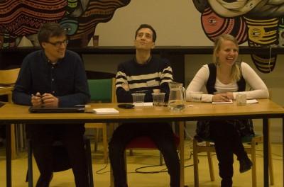 Die Opposition, die die erste Roskilder Debatte gewann © Sine Carlsen