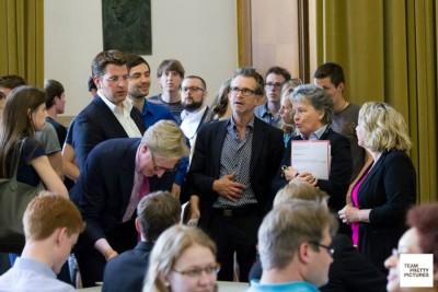 Die Ehrenjury der DDM 2015 in Münster. © Matthias Carcasona