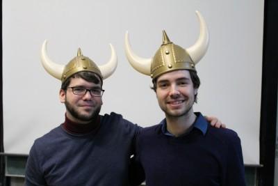 Tobias Kube und Willy Witthaut gewinnen das 2. Marburger Geschichtsturnier (c) Moritz von Graevenitz