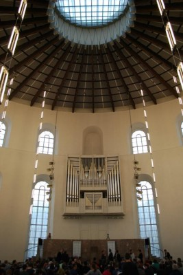 Die Paulskirche: Nicht mehr religiös genutzt, dafür große demokratische Tradition und 2013 Finalort einer ZEIT DEBATTE. © DCGF