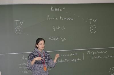 Pegah beim Workshop