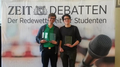 Sieger der Regionalmeisterschaften 2016 sind Heidelberg, Göttingen, Münster