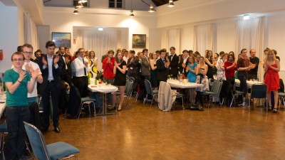 Stehender Applaus für die Organisatoren am Samstagabend © Manuel Adams