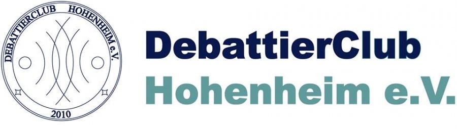 Logo Debattierclub Hohenheim