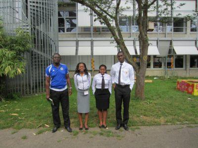 Members and coach of Team Zimbabwe - © Lennart Lokstein