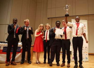 England wins World Schools Debating Championships 2016