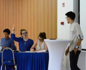 Diesen Monat: World Schools Debating Championships in Stuttgart