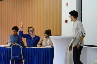 This month: World Schools Debating Championships in Stuttgart