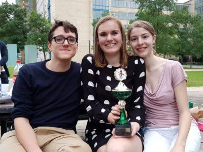 Das Siegerteam Habakuk, Ela, Anne - © DC Hannover