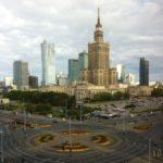 Blick auf Warschau - © Lennart Lokstein