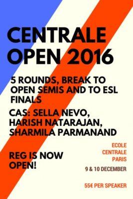 Titelbild Centrale Open