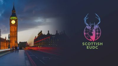 Titelbild Training Session in London der Scottish EUDC 2018