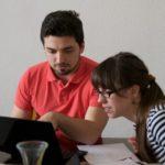 Konstantin Gavras und Lisa Laeber bei der Arbeit - © VDCH