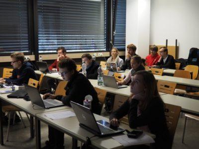 Teilnehmer im Layout-Workshop - © VDCH