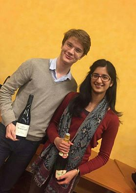 Tudor Musat and Viva Avasthi, the winners of the Novice final - ©Tudor Musat