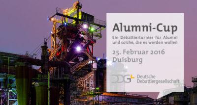 Anmeldephase für den Alumni-Cup der DDG eröffnet