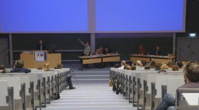 Während des Duells - © Debatiergesellschaft Jena e.V.