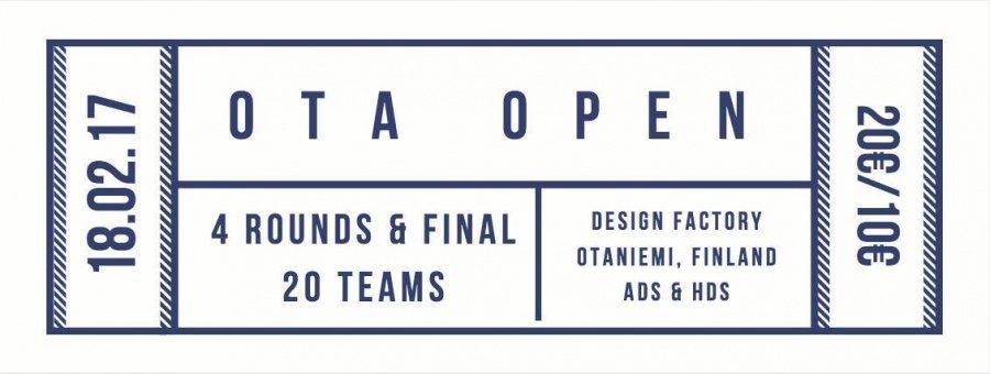 Ota Open 2017 - Banner
