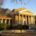 Jameson Hall from outside, located at the University of Cape Town campus  - © UCT
