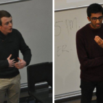Winners of LSESU Open: Joe Mayes (left), Steven Rajavinothan (right) - © Seah Ying Ying