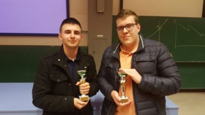 The winners of the novice final: Filip Branović and Mihajlo Pavlović - © Johannes Meiborg