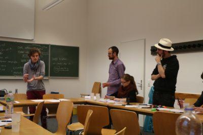 In den Debatten wird das neue Wissen angewandt © Debating Club Heidelberg