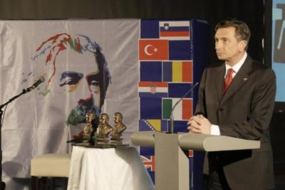 Slovenian President Borut Pahor - © ZIP