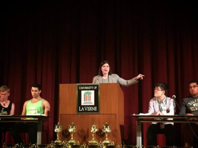 Miriam Kohn in the Final of the 2017 Pan-American Championships - © University of La Verne