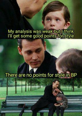 50% Präsentation: Zeit für eine BPS-Diskussion