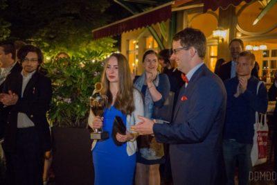 DDG-Nachwuchspreisträgerin 2017: Angélique Herrler - © Dresden Debating Union