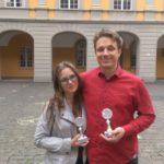 Die Sieger: Sibylla Jenner und Jakobus Jaspersen - © Johannes Meiborg