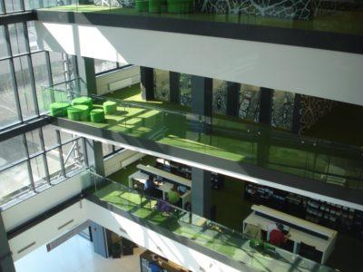 The Tallinn University of Technology library - © Tallinn EUDC