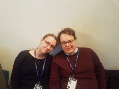 Milla Huuskonen and Joona Suhonen - © H.Hecke