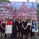 Die gesamte deutsche Delegation vor der Opening Ceremony - © Laura Alviz