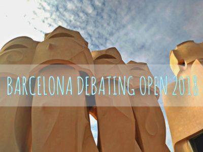 Barcelona Debating Open 2018