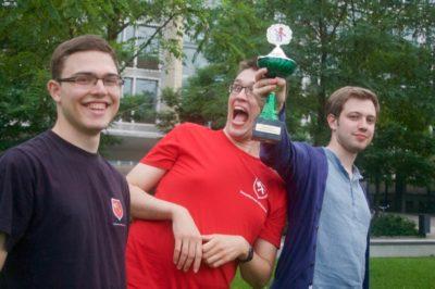 Freude beim Siegerteam - © DC Hannover