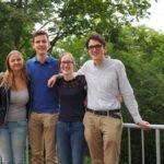 Der neue VDCH-Vorstand. V.l.n.r.: Gwendolyn Zeuner, Benedikt Rennekamp, Sabine Wilke, Habakuk Hain - © Gina Konietzky